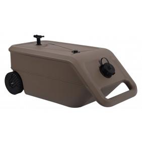 Citerne et récupérateur d'eau mobile - 55 litres - Nomade EDA PLASTIQUES