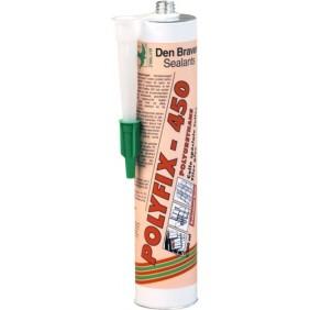 Mastic-colle polyuréthane - 300 ml - coloris terre cuite - Polyfix 450 DEN BRAVEN
