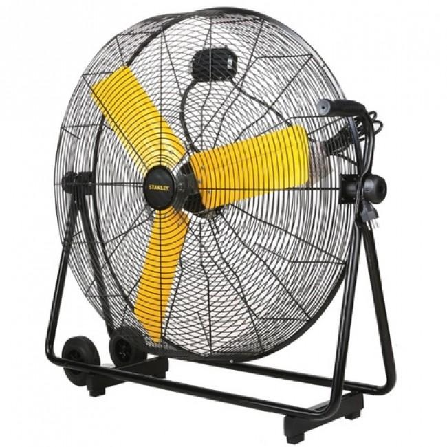 Ventilateur professionnel de chantier 118W diamètre 76cm STANLEY