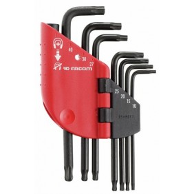Jeu 7 clés torx - T10 à T40 - magnétisables - 89SR.J7PB FACOM