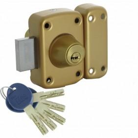 Verrou en applique - haute sûreté - cylindre double - ISR 50 ISEO