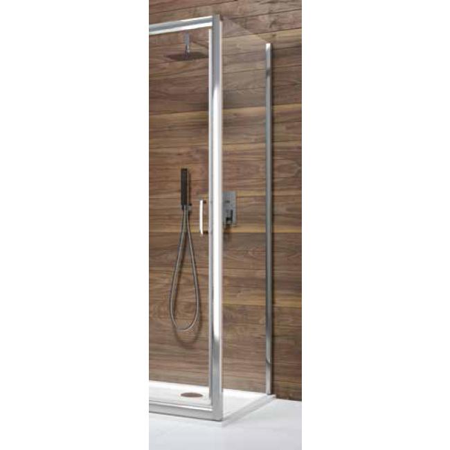 Paroi de douche - fixe - verre transparent - Tyxo LEDA