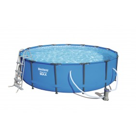 Piscine tubulaire ronde - 457x107cm - Steel Pro Max Pools BESTWAY