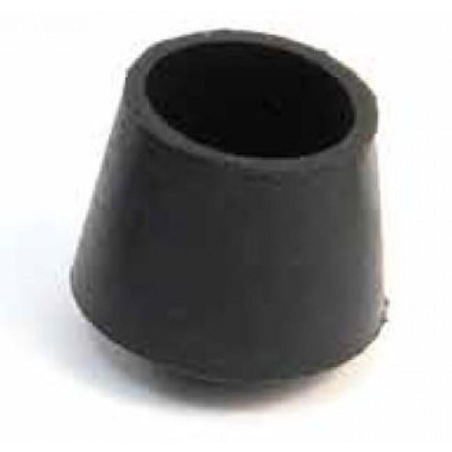 Embout caoutchouc noir couvrant pour tube AVL