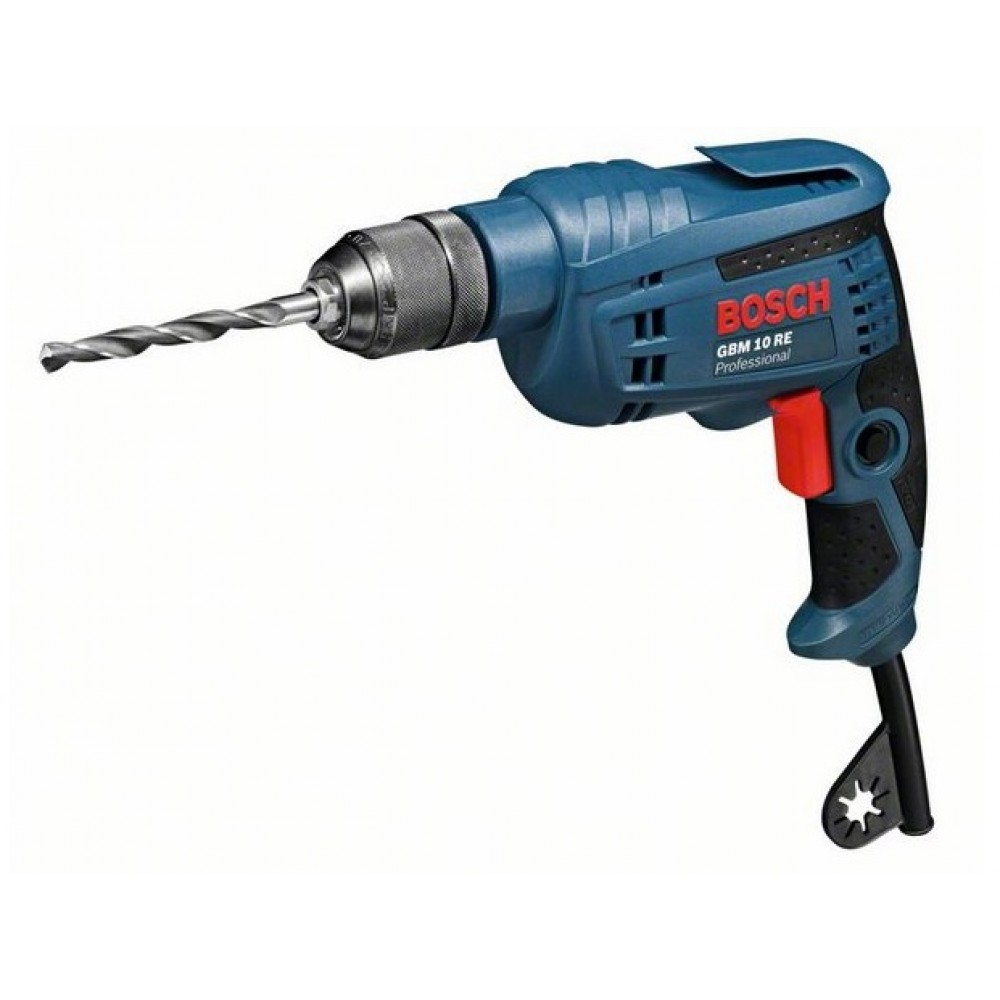 Perceuse filaire 600 w gbm 10 re 0601473600 bosch bricozor - Perceuse visseuse filaire ...