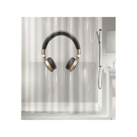 Rideau de douche - 180X200cm - Headphone SPIRELLA