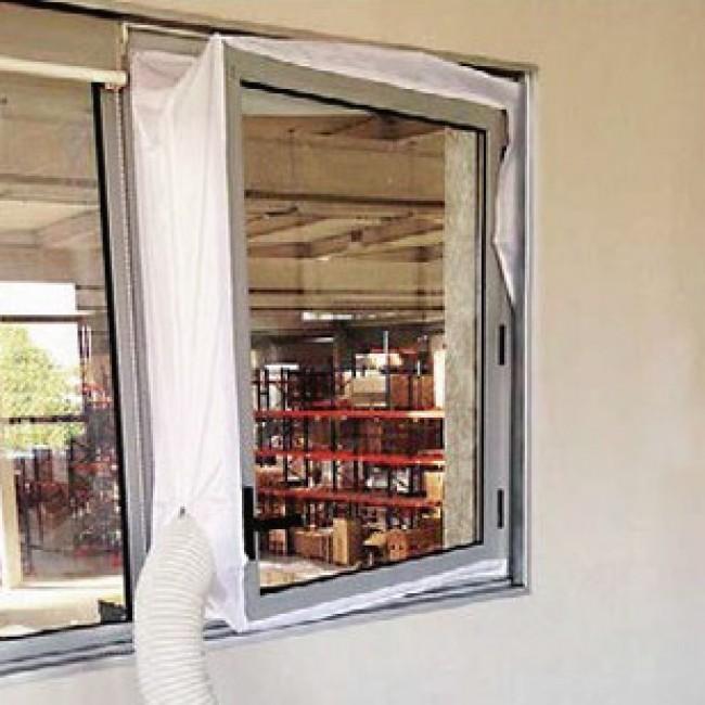 Kit d'étanchéité pour fenêtre à vantail - pour tuyau de climatiseur VORTICE