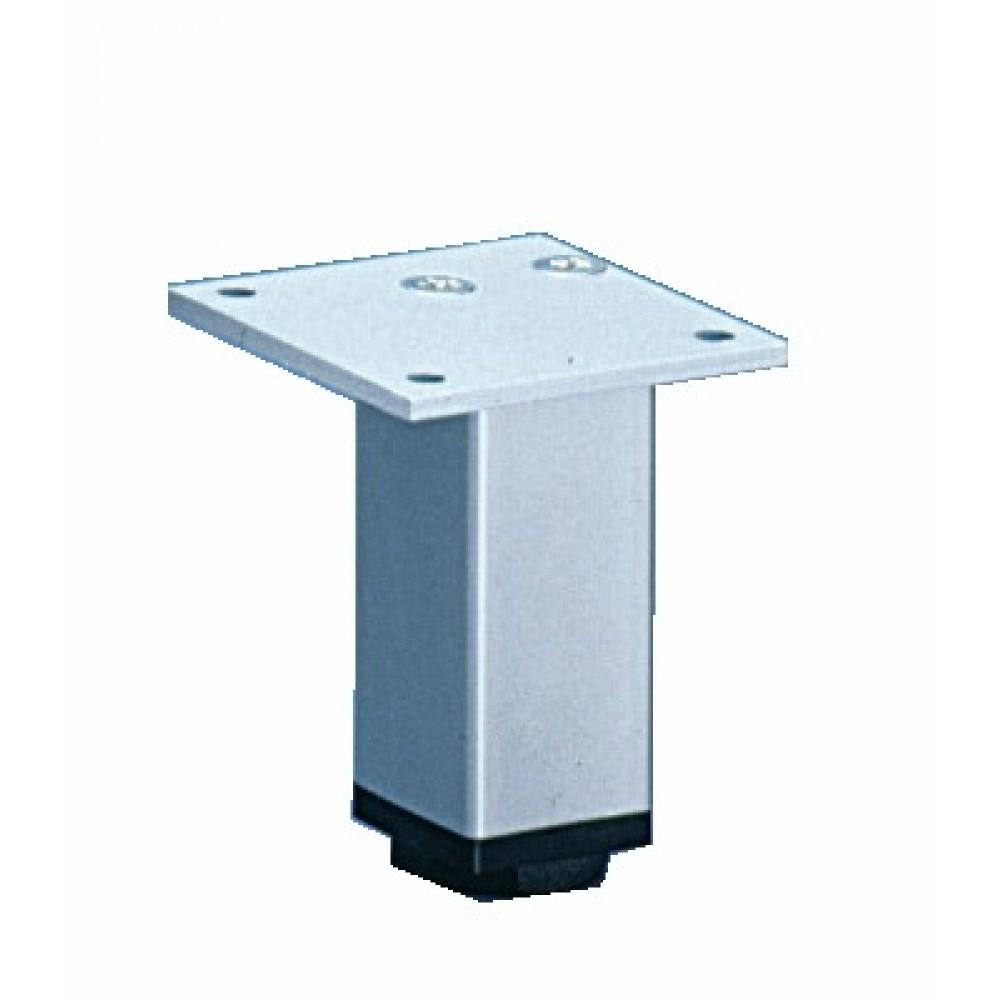 Pied de meuble carr en aluminium 30 x 30 hettich bricozor for Meuble 30x30