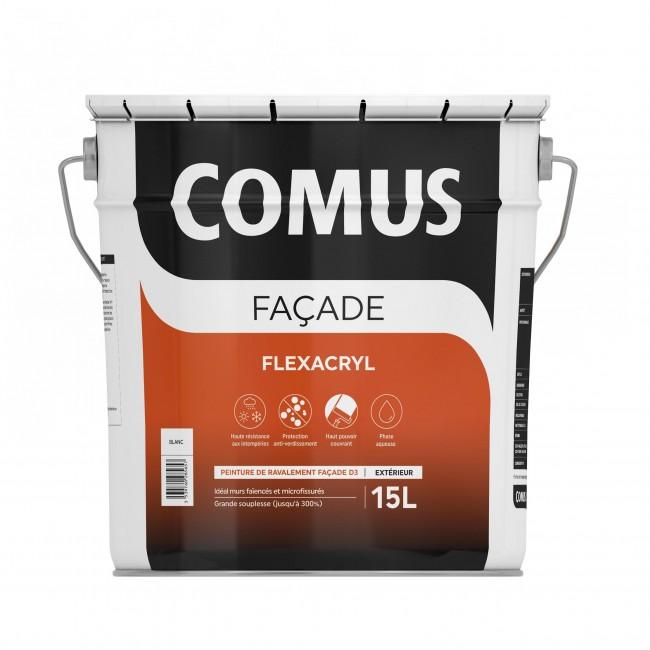 Imperméabilisant façade - blanc - Flexacryl COMUS
