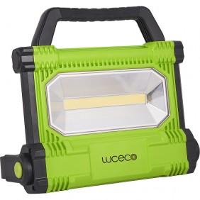 Projecteur de chantier LED - rechargeable - portatif LUCECO