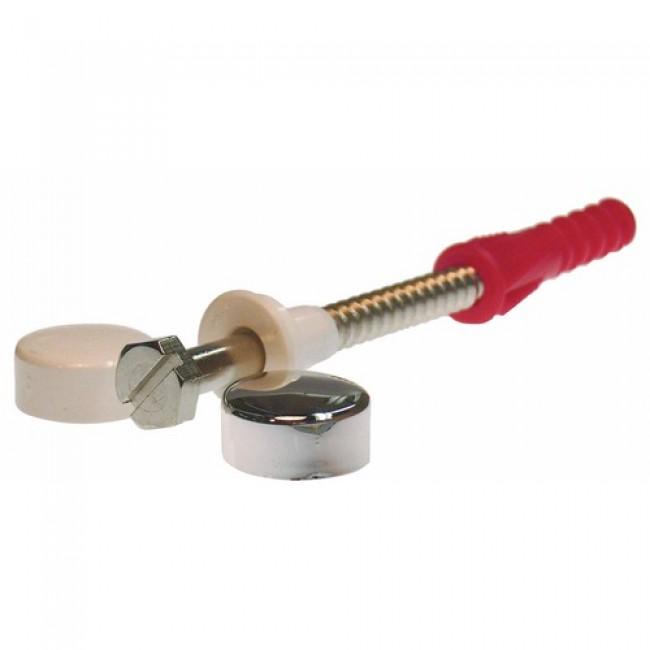 Fixations pour WC et bidet avec cabochons cache vis RAM