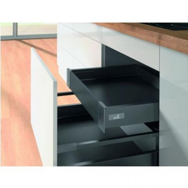 kit tiroir innotech atira hauteur 70 mm anthracite hettich bricozor. Black Bedroom Furniture Sets. Home Design Ideas