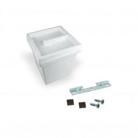 Poubelle de salle de bain 5 litres - Onda - blanc EMUCA