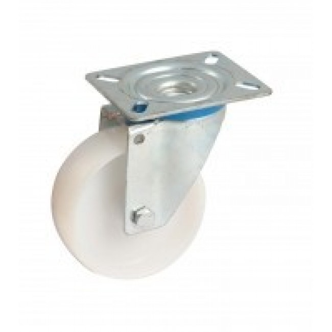 Roulette en polyamide sur platine pivotante AVL