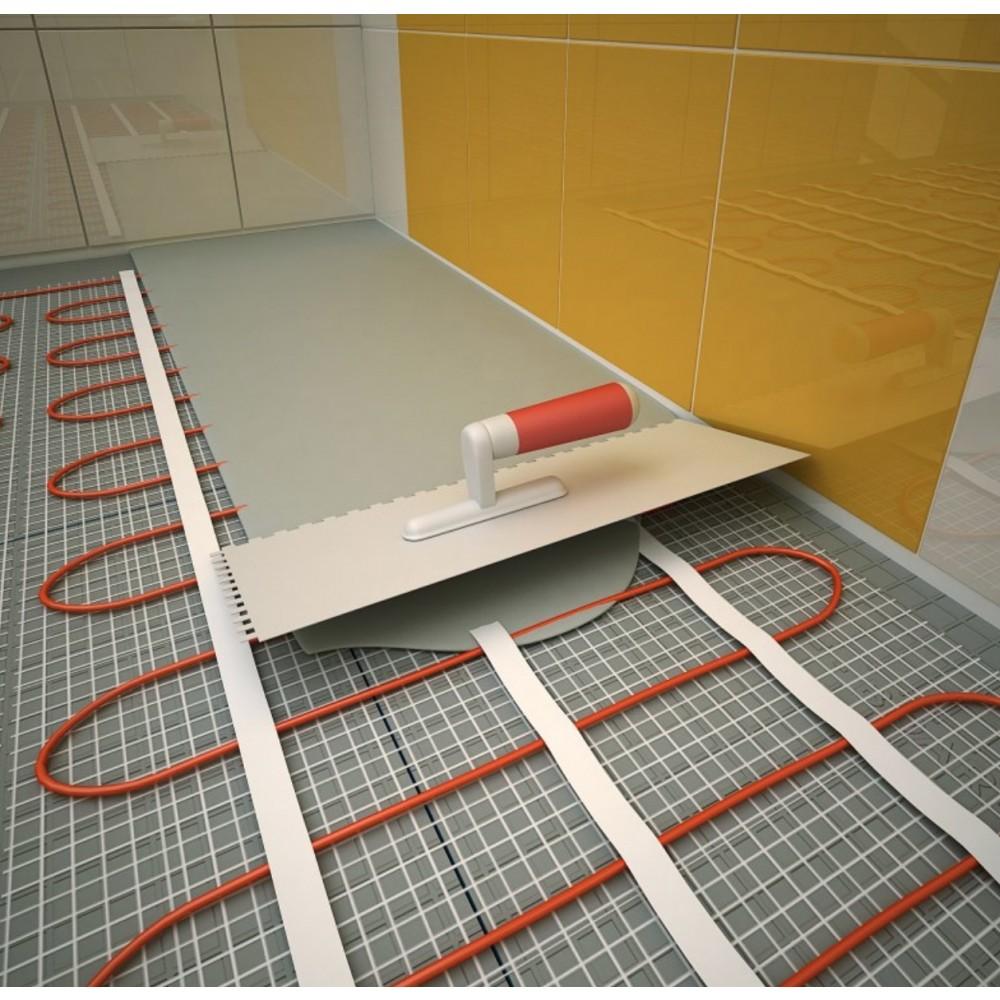 plancher chauffant lectrique cable kit matt 120w m 15. Black Bedroom Furniture Sets. Home Design Ideas