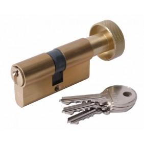 Cylindre à bouton FIRST 3000 s'entrouvrant, laiton poli VACHETTE