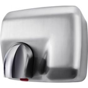 Sèche mains mural - électronique - coloris métal satiné MABEL