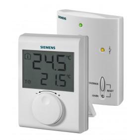 Thermostat d'ambiance sans fil RDH100RF/SET + récepteur SIEMENS
