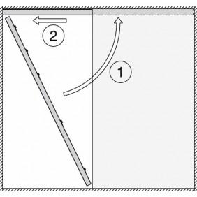 Profil de réception pour système Junior 80 type B Pocket HAWA