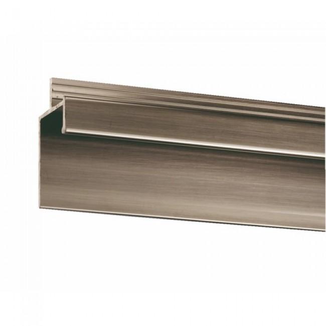 Poignée profil en aluminium-longueur 2 m RIVINOX