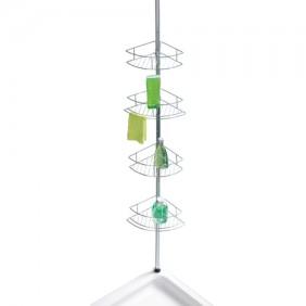 Étagère de douche télescopique pour angle - Dolcedo - 4 paniers WENKO