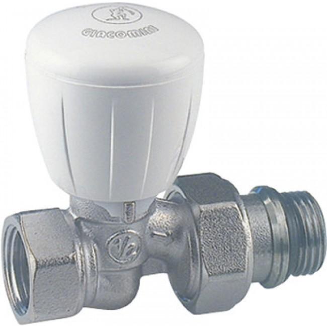 Corps de robinet thermostatique droit R422TG - filetage 12x17 GIACOMINI