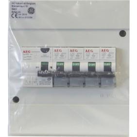Coffret électrique pour studio ou extension - 4 disjoncteurs AEG