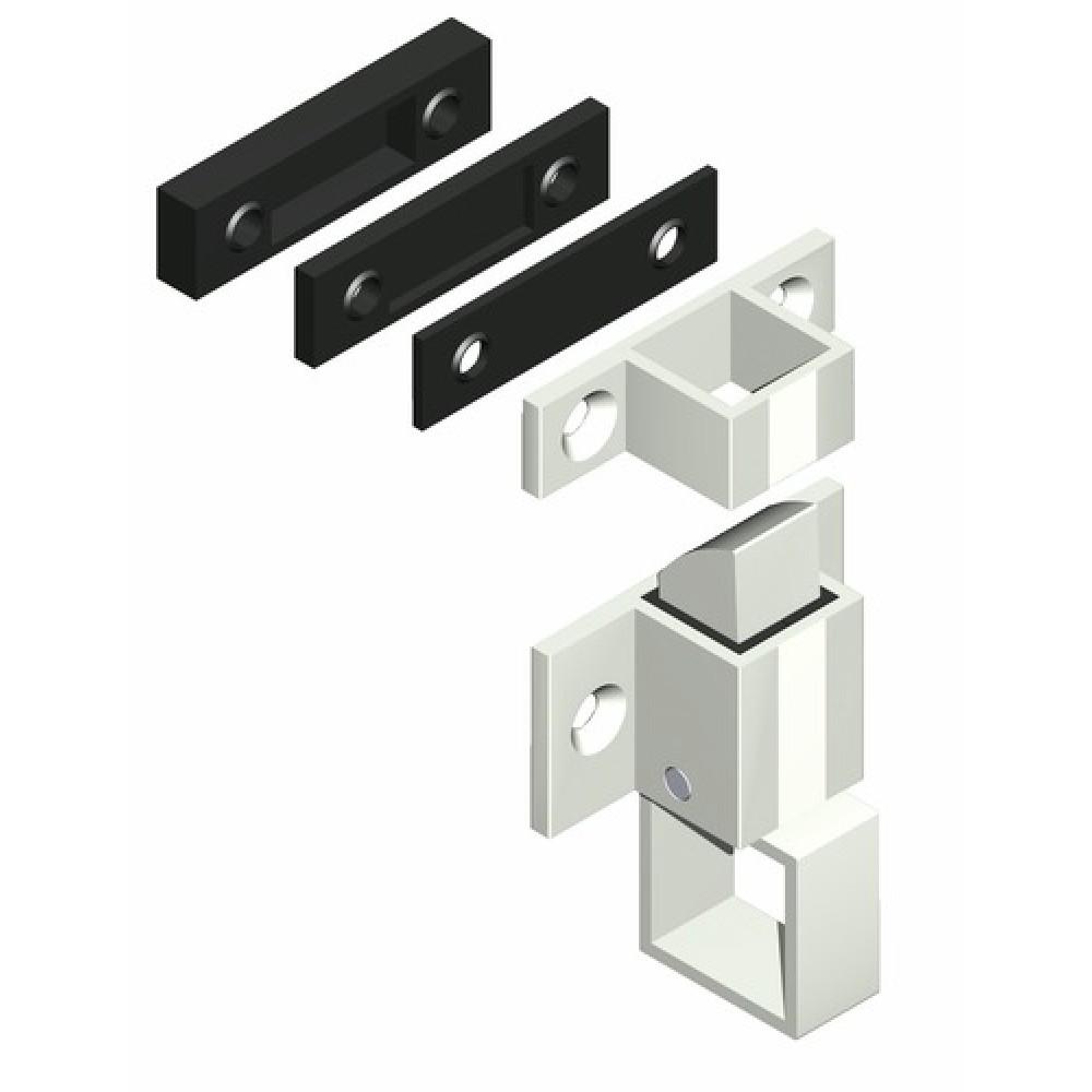 Loqueteaux pour ch ssis aluminium la crois e ds bricozor for Chassis aluminium
