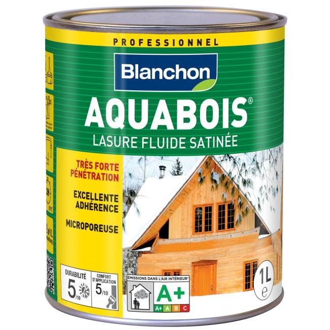 Lasure fluide satinée - Aquabois BLANCHON
