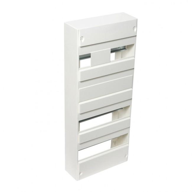 Coffret vide tableau électrique 4 rangées / 52 modules - blanc DEBFLEX