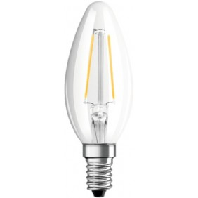 Ampoule LED - 4W - E14 - flamme à filament - Ambiente Lux OSRAM