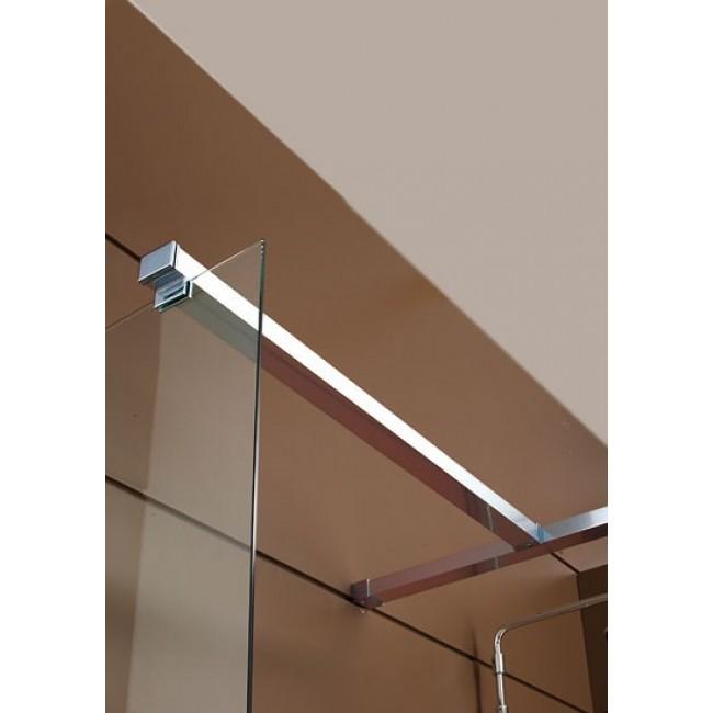 Barre de stabilisation additionnelle avec Patère - Fixation sur verre et sur barre - Django LEDA