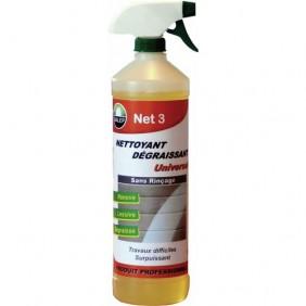 Nettoyant dégraissant - universel - surpuissant - 1 litre - Net 3 DALEP