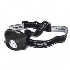 Lampe frontale - 5 LED - corps caoutchouc - Indestructible VARTA