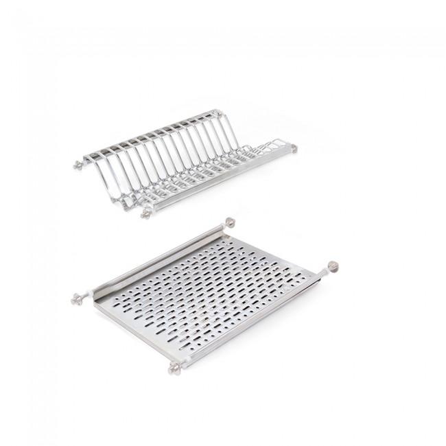 Égouttoir pour meuble de cuisine en acier inoxydable EMUCA