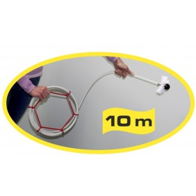 Kit de ramonage poêles -  conditions extrême - Flex pro / 10m ASSISTANCE CHIMIQUE