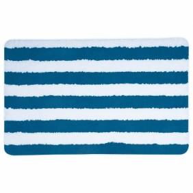Tapis de bain - Mémoire de forme - 50x80cm - seauville - Bleu SPIRELLA
