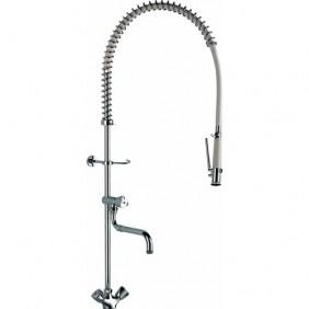 Mélangeur de pré-lavage professionnel avec robinet de puisage DELABIE