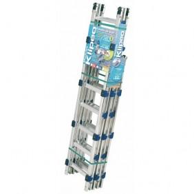 Échelle de toit modulaire en aluminium - crochet de faitage - Klipeo TUBESCA