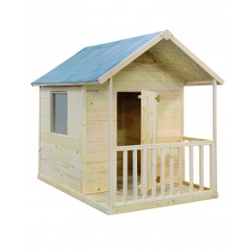 Maisonnette enfant en bois Kangourou 2,6 m2 JARDIPOLYS
