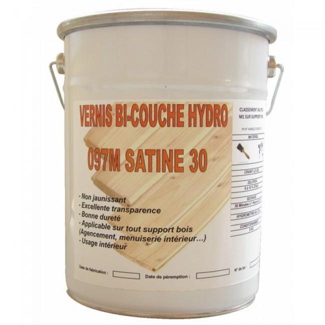 Vernis bi-couche hydro pour bois intérieur BRICOZOR