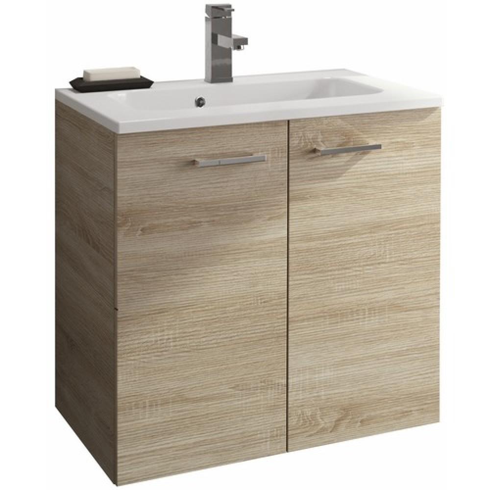 vasque avec meuble Meuble sous vasque avec porte - Angelo - différents coloris Néova
