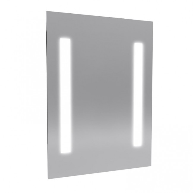Miroir design - Silver River - 70x50 cm AURLANE