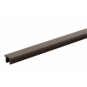 Têtière plastique pour ferrures M6/4 pour oscillo-battants bois contre coudé jeu de 4 mm, recouvrement de 15 mm FERCO