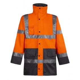 Parka haute visibilité - 3 en 1 - Orange fluo - VICKERS NORTH WORK