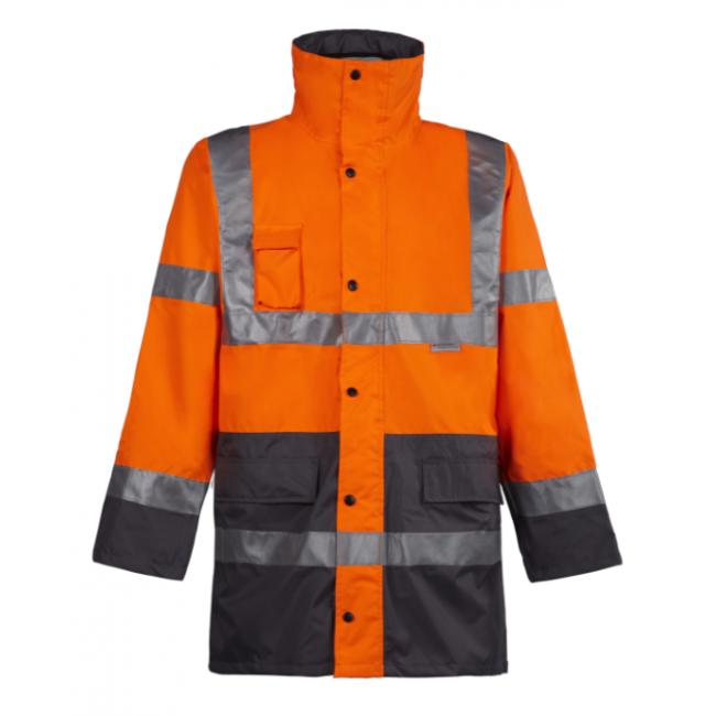 Parka haute visibilité - 3 en 1 - Orange fluo - Vickers NORTH WAYS