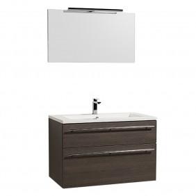 Meuble de salle de bains - Maîa - 90 cm - 3 finitions BATHDESIGN