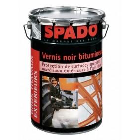 Vernis noir bitumeux pour la protection des métaux à l'extérieur SPADO
