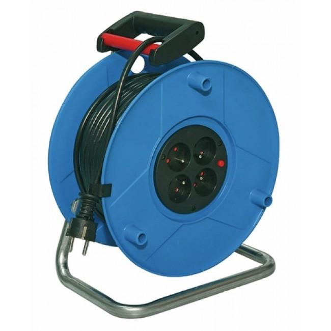 Enrouleur câble électrique - Standard - disjoncteur thermique - 25m BRENNENSTUHL