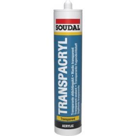 Mastic acrylique - joint et rebouchage - transparent - Transpacryl SOUDAL